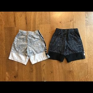 2 X Nike Dri-Fit 6-7 YRS Shorts